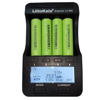 Cell pin 18650 Lishen 2500mah 12C-25A (Li-ion 3.7V)