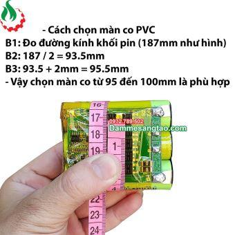 Màng co nhiệt PVC kích thước tùy chọn