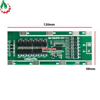 Mạch 7S 29.4V 35A bảo vệ pin Li-ion 3.7V