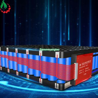 Mạch 15S 48V (54.75V) 15A Daly bảo vệ pin sắt Li-Fe 3.2V xe điện