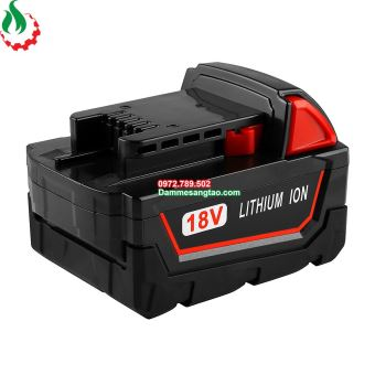 Vỏ pin Mil 18V Li-ion 3.7V 18650 nhận sạc zin