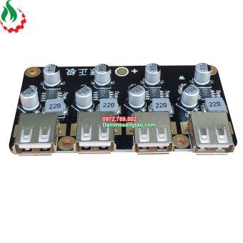 Mạch hạ áp đầu vào 6V-32V đầu ra 5V QC3.0 sạc nhanh