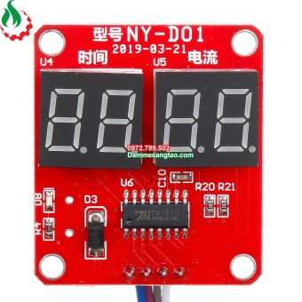 Mạch timer máy hàn cell pin NY-D01 40A 100A