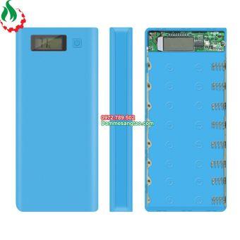 Box sạc dự phòng 8 cell 18650 LCD (Không pin)