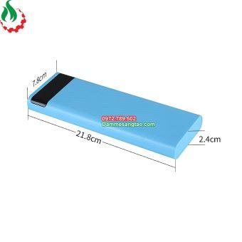 Box sạc dự phòng 10 cell 18650 có lò xo hiển thị LCD