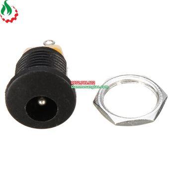 Jack DC 022 chuẩn 5.5 x 2.1mm (Có cao su chống nước)