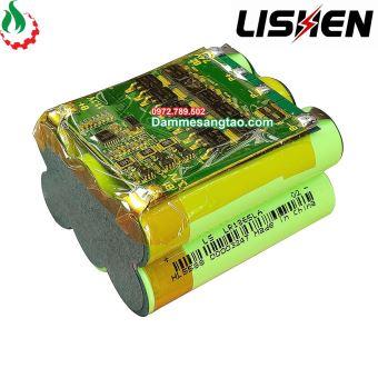 Khối pin Lishen 12V 3S2P 4000mah xả 40A