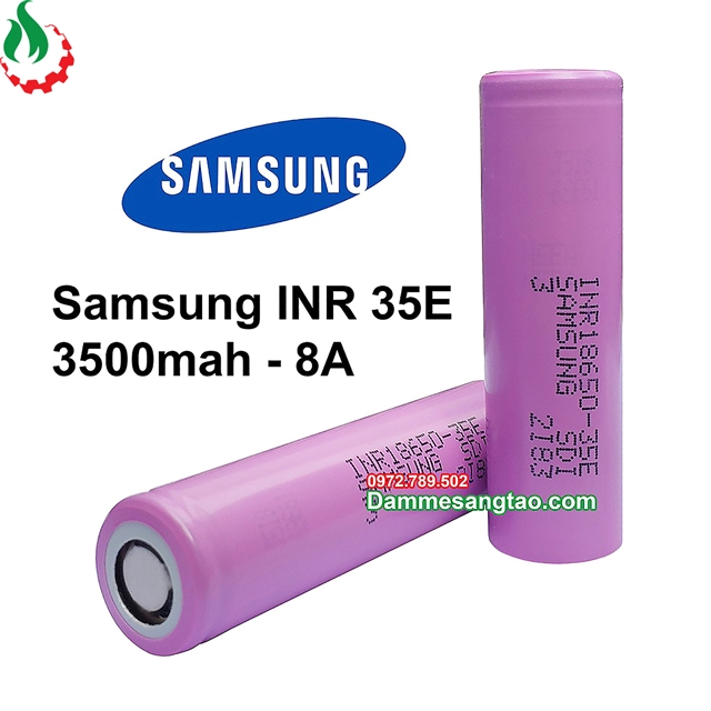 Cell pin 18650 Samsung INR 35E (Xả 8A)