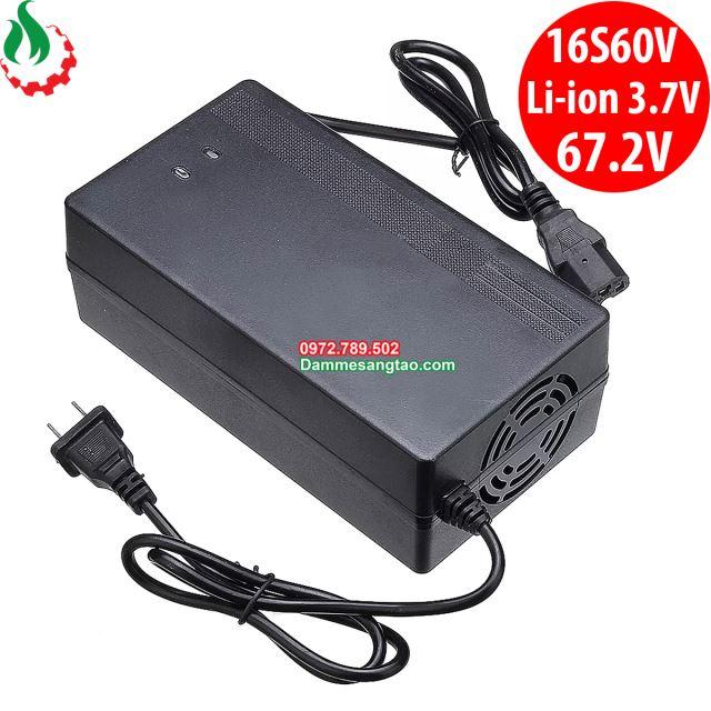 Sạc xe điện 16S 60V dùng cho pin Li-ion 3.7V