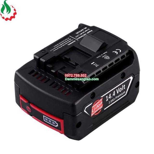 Vỏ pin Bosch 14V Li-ion 3.7V nhận sạc zin